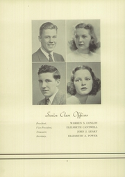 Page 12, 1940 Edition, North High School - Northern Lights Yearbook (Worcester, MA) online yearbook collection