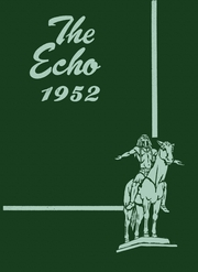 Page 1, 1952 Edition, Canton High School - Echo Yearbook (Canton, MA) online yearbook collection