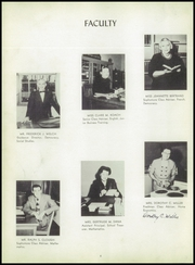 Page 8, 1952 Edition, Canton High School - Echo Yearbook (Canton, MA) online yearbook collection