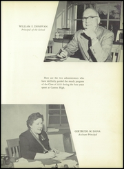 Page 11, 1955 Edition, Canton High School - Echo Yearbook (Canton, MA) online yearbook collection