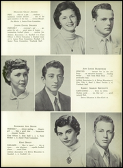 Page 17, 1955 Edition, Canton High School - Echo Yearbook (Canton, MA) online yearbook collection