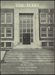 Page 5, 1955 Edition, Canton High School - Echo Yearbook (Canton, MA) online yearbook collection