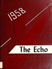 Page 1, 1958 Edition, Canton High School - Echo Yearbook (Canton, MA) online yearbook collection