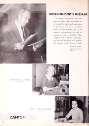 Page 10, 1958 Edition, Canton High School - Echo Yearbook (Canton, MA) online yearbook collection