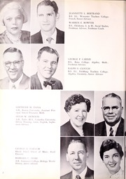 Page 12, 1958 Edition, Canton High School - Echo Yearbook (Canton, MA) online yearbook collection