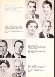 Page 13, 1958 Edition, Canton High School - Echo Yearbook (Canton, MA) online yearbook collection