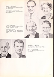 Page 15, 1958 Edition, Canton High School - Echo Yearbook (Canton, MA) online yearbook collection