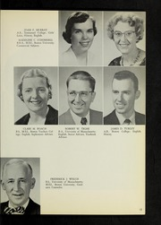 Page 17, 1959 Edition, Canton High School - Echo Yearbook (Canton, MA) online yearbook collection