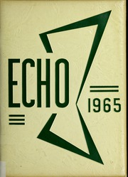 Page 1, 1965 Edition, Canton High School - Echo Yearbook (Canton, MA) online yearbook collection