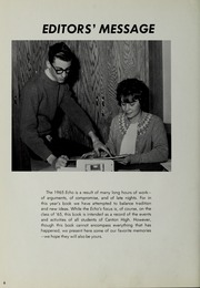 Page 10, 1965 Edition, Canton High School - Echo Yearbook (Canton, MA) online yearbook collection