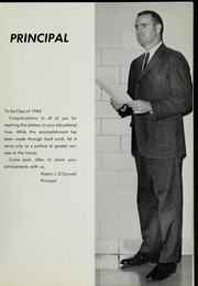 Page 13, 1965 Edition, Canton High School - Echo Yearbook (Canton, MA) online yearbook collection