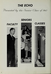 Page 6, 1965 Edition, Canton High School - Echo Yearbook (Canton, MA) online yearbook collection