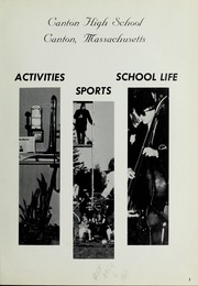 Page 7, 1965 Edition, Canton High School - Echo Yearbook (Canton, MA) online yearbook collection