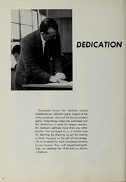 Page 8, 1965 Edition, Canton High School - Echo Yearbook (Canton, MA) online yearbook collection