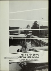 Page 5, 1970 Edition, Canton High School - Echo Yearbook (Canton, MA) online yearbook collection