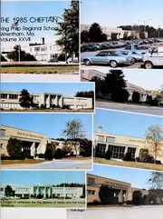 Page 5, 1985 Edition, King Philip Regional High School - Chieftain Yearbook (Wrentham, MA) online yearbook collection