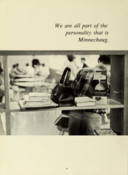 Page 12, 1969 Edition, Minnechaug Regional High School - Falcon Yearbook (Wilbraham, MA) online yearbook collection