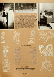 Page 5, 1978 Edition, Minnechaug Regional High School - Falcon Yearbook (Wilbraham, MA) online yearbook collection