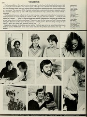 Page 108, 1979 Edition, Minnechaug Regional High School - Falcon Yearbook (Wilbraham, MA) online yearbook collection