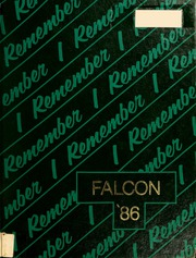 1986 Edition, Minnechaug Regional High School - Falcon Yearbook (Wilbraham, MA)