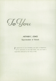 Page 8, 1939 Edition, Walpole High School - Royal Topper Yearbook (Walpole, MA) online yearbook collection