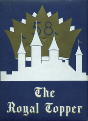1958 Edition, Walpole High School - Royal Topper Yearbook (Walpole, MA)