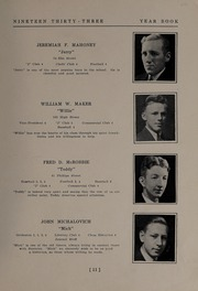 Page 13, 1933 Edition, North Andover High School - Knight Yearbook (North Andover, MA) online yearbook collection