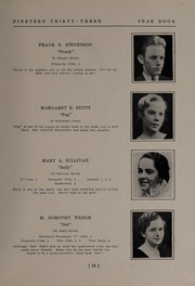 Page 17, 1933 Edition, North Andover High School - Knight Yearbook (North Andover, MA) online yearbook collection