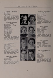 Page 12, 1937 Edition, North Andover High School - Knight Yearbook (North Andover, MA) online yearbook collection
