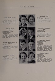 Page 13, 1937 Edition, North Andover High School - Knight Yearbook (North Andover, MA) online yearbook collection
