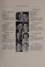 Page 17, 1937 Edition, North Andover High School - Knight Yearbook (North Andover, MA) online yearbook collection