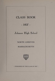 Page 5, 1937 Edition, North Andover High School - Knight Yearbook (North Andover, MA) online yearbook collection