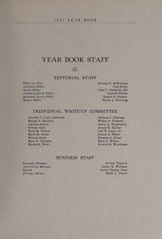 Page 7, 1937 Edition, North Andover High School - Knight Yearbook (North Andover, MA) online yearbook collection