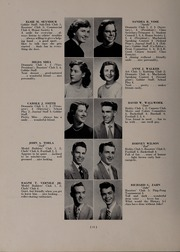 Page 18, 1953 Edition, North Andover High School - Knight Yearbook (North Andover, MA) online yearbook collection