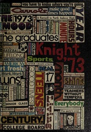 North Andover High School - Knight Yearbook (North Andover, MA) online yearbook collection, 1973 Edition, Page 1