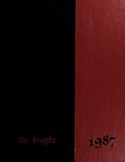 1987 Edition, North Andover High School - Knight Yearbook (North Andover, MA)