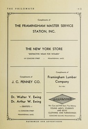 Page 5, 1943 Edition, Framingham High School - Philomath Yearbook (Framingham, MA) online yearbook collection