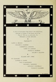 Page 8, 1943 Edition, Framingham High School - Philomath Yearbook (Framingham, MA) online yearbook collection
