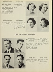 Page 17, 1952 Edition, Framingham High School - Philomath Yearbook (Framingham, MA) online yearbook collection