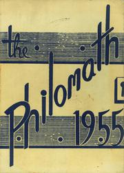 Page 1, 1955 Edition, Framingham High School - Philomath Yearbook (Framingham, MA) online yearbook collection