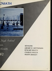 Page 7, 1962 Edition, Framingham High School - Philomath Yearbook (Framingham, MA) online yearbook collection