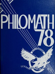 1978 Edition, Framingham High School - Philomath Yearbook (Framingham, MA)