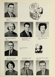 Page 17, 1961 Edition, Bedford High School - Missile Yearbook (Bedford, MA) online yearbook collection