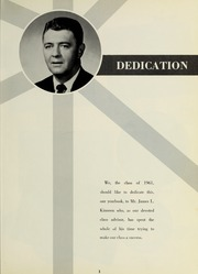 Page 7, 1961 Edition, Bedford High School - Missile Yearbook (Bedford, MA) online yearbook collection