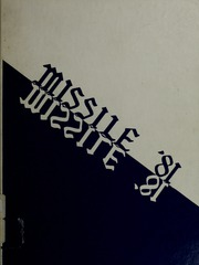 1981 Edition, Bedford High School - Missile Yearbook (Bedford, MA)