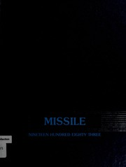 1983 Edition, Bedford High School - Missile Yearbook (Bedford, MA)