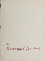 Page 5, 1945 Edition, Sharon High School - Marsengold Yearbook (Sharon, MA) online yearbook collection