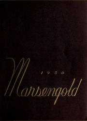 Page 1, 1950 Edition, Sharon High School - Marsengold Yearbook (Sharon, MA) online yearbook collection