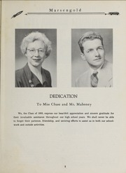 Page 9, 1950 Edition, Sharon High School - Marsengold Yearbook (Sharon, MA) online yearbook collection