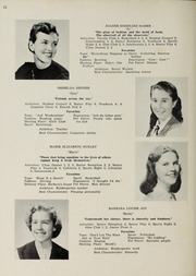 Page 14, 1953 Edition, Sharon High School - Marsengold Yearbook (Sharon, MA) online yearbook collection